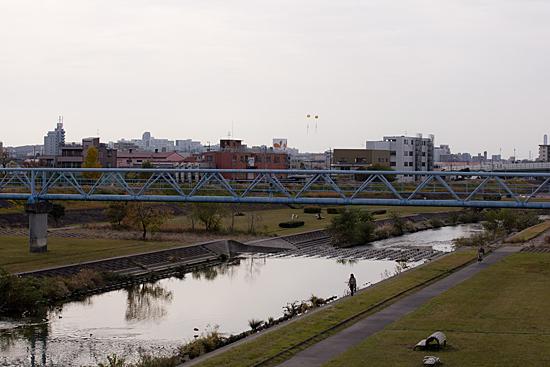 矢田川風景-1