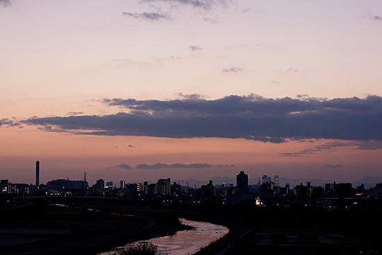 矢田川風景-10