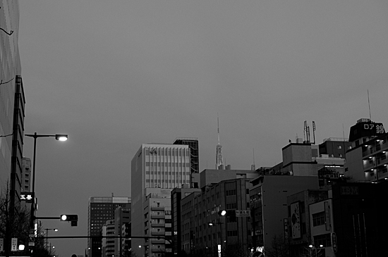 モノクロ風景-13