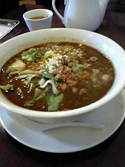 """黒胡麻坦々麺"""""""