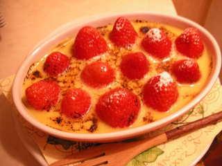 苺のグラタン