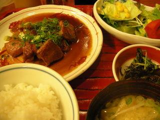 佐賀牛ロース定食