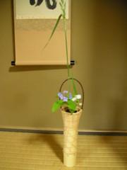 七段花・白つゆ草・縞芦