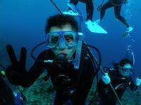 青の洞窟シュノーケル&体験ダイビング