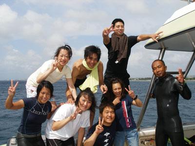 本島沿いファンダイビング