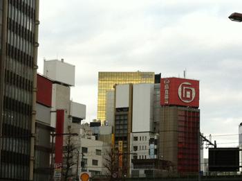 黄金色ビル