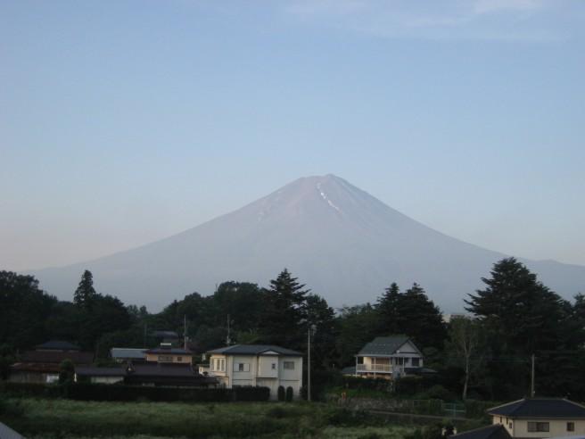 7月14日富士山