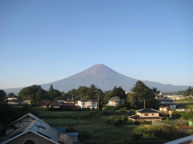 7月17日富士山