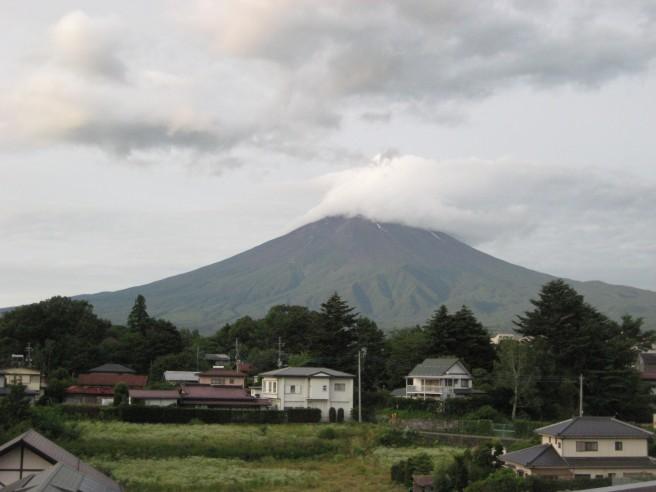 7月18日富士山