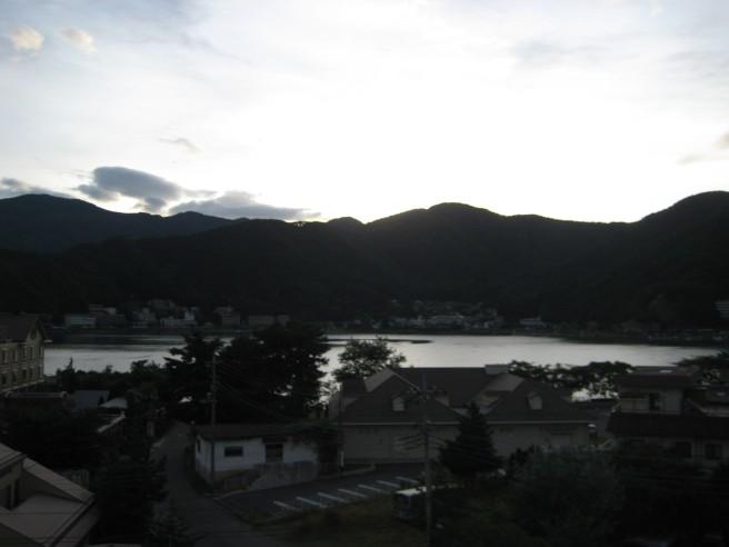 7月18日河口湖