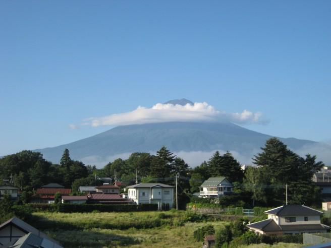 4月23日富士山