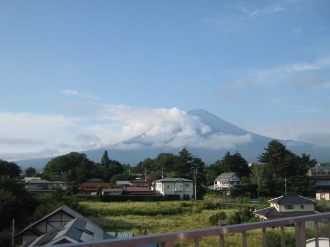 7月24日富士山