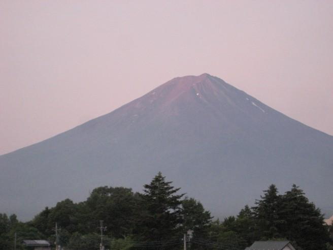 7月26日富士山