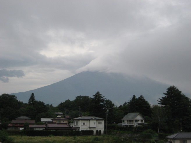 7月28日富士山