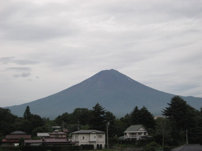 7月29日富士山