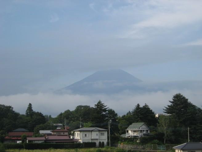 8月6日富士山