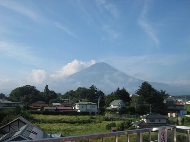 8月8日富士山