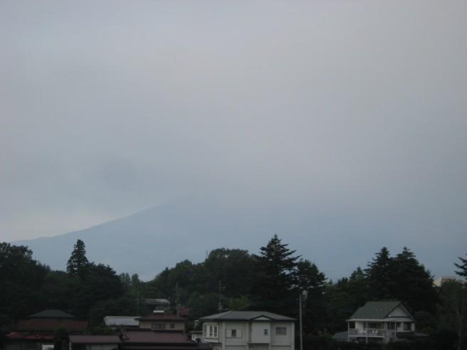 8月9日富士山