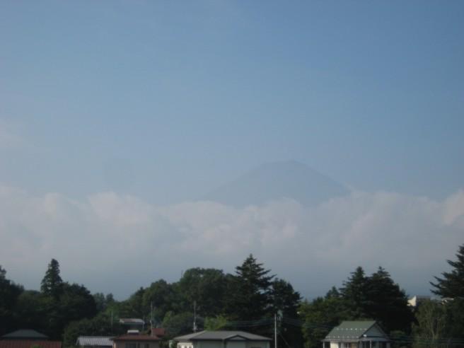 8月12日富士山