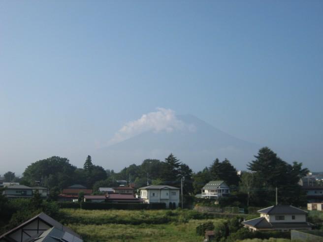 8月14日富士山
