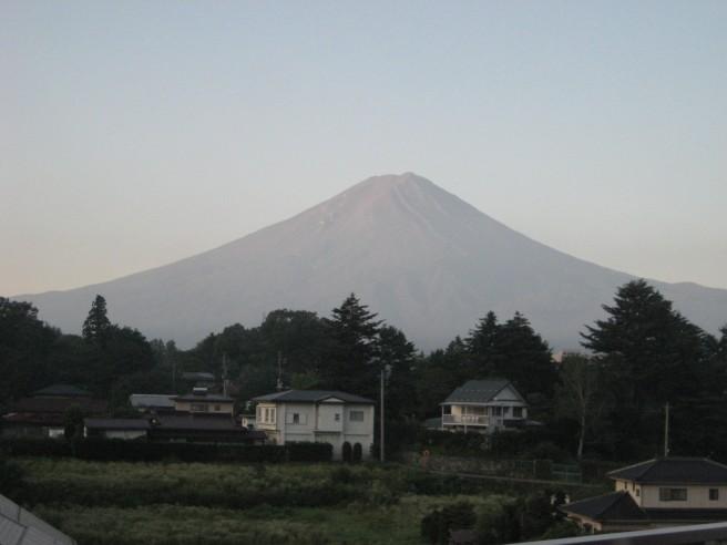 8月15日富士山