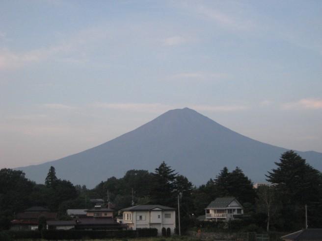 8月18日富士山