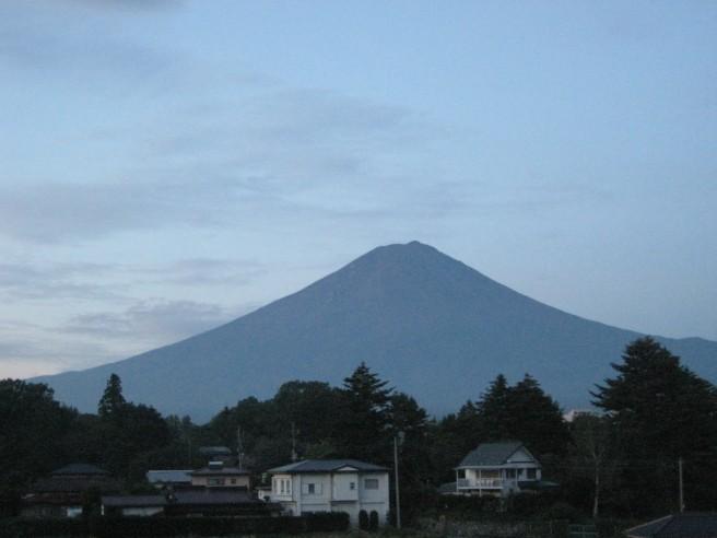 8月24日富士山
