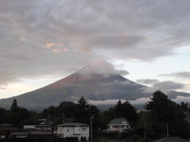 8月26日富士山情報
