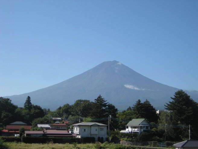 8月30日富士山