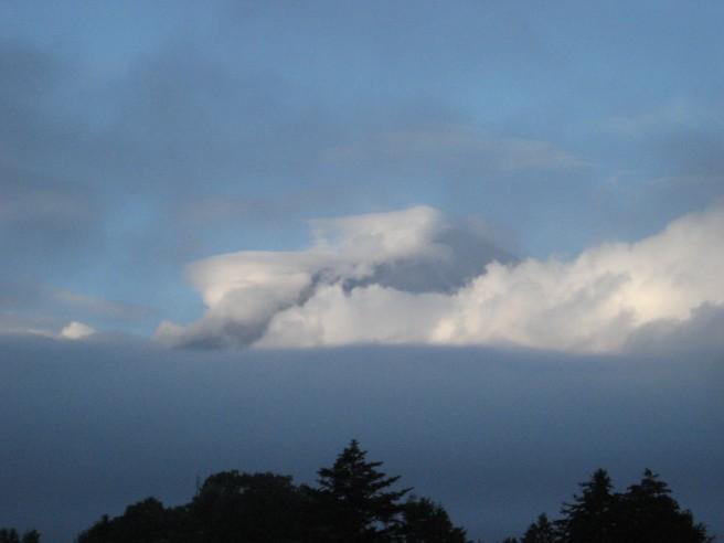 8月31日富士山