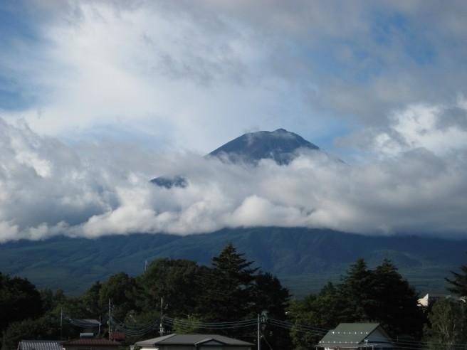 9月6日富士山
