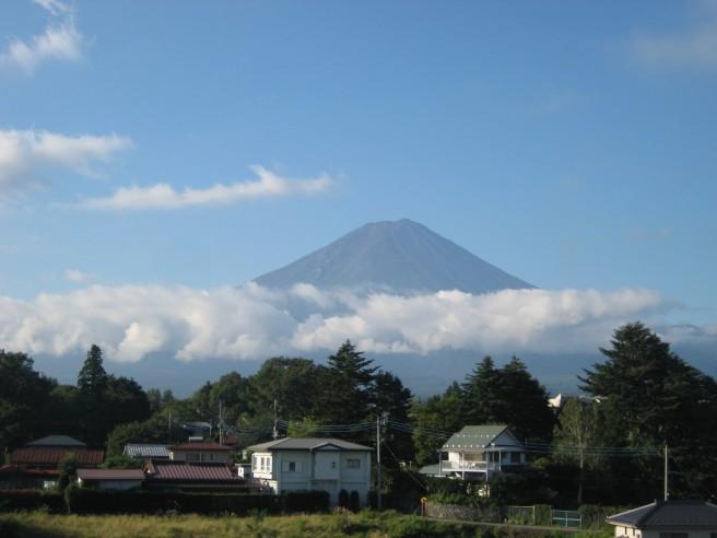 9月7日富士山