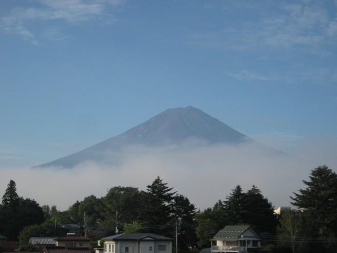 9月8日富士山