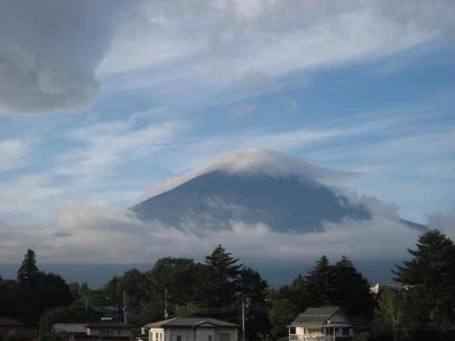 9月9日富士山