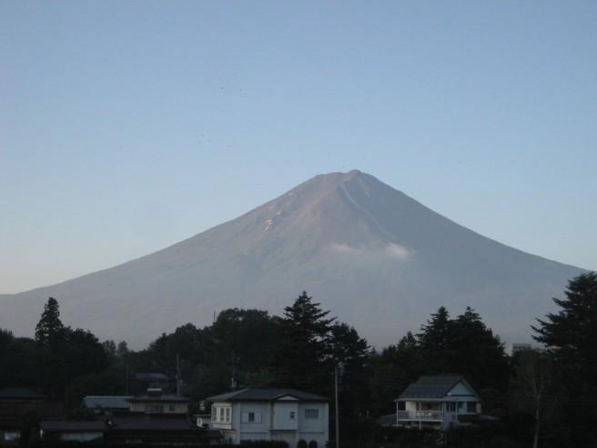 9月10日富士山