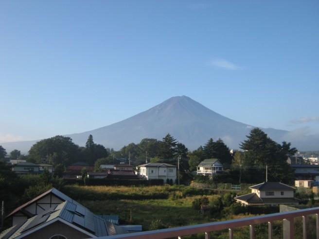 9月11日富士山