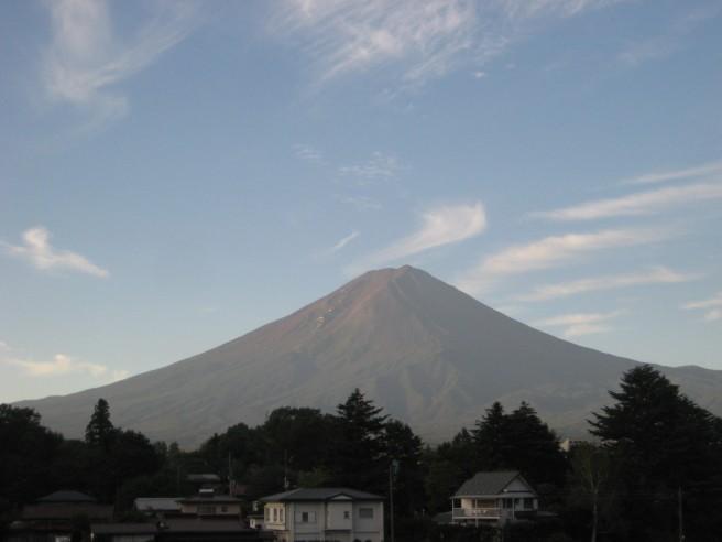 9月13日富士山