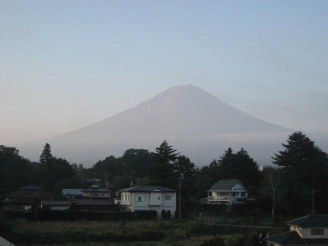 9月14日富士山