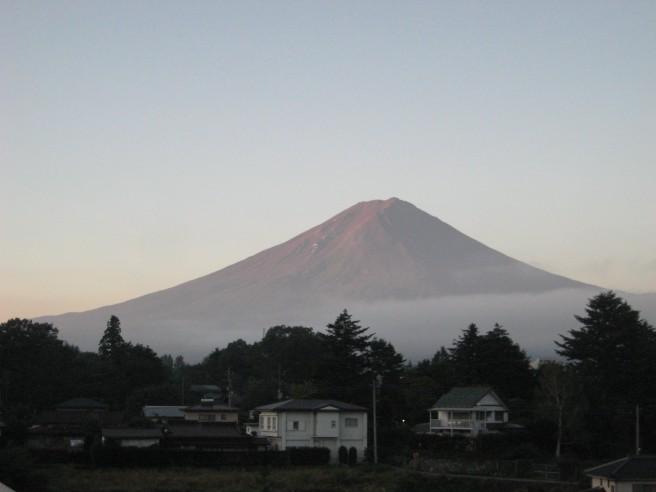 9月15日富士山