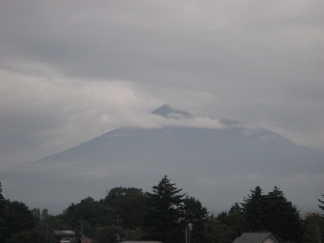 9月26日富士山