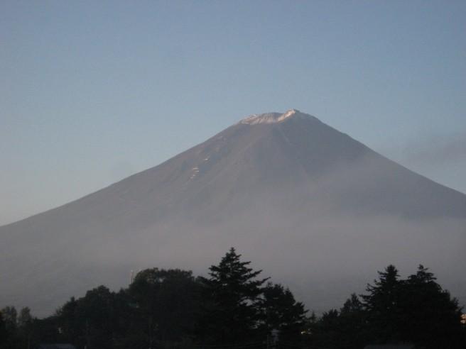 9月29日富士山