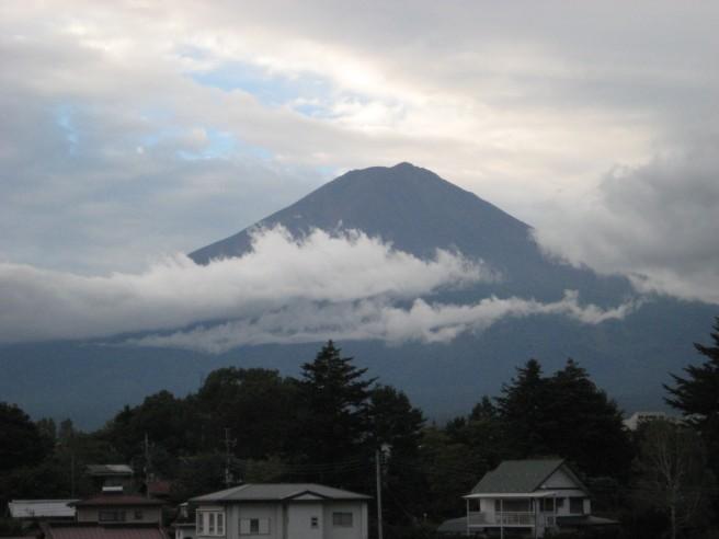 10月1日富士山
