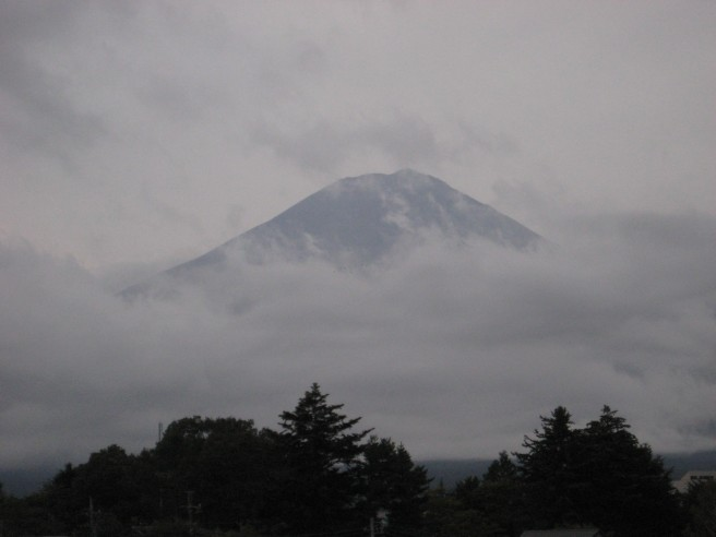 10月2日富士山