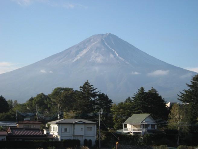 10月4日富士山