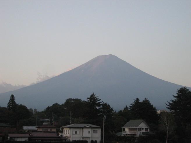 10月7日富士山