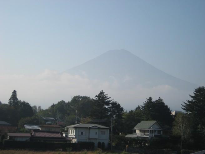 10月9日富士山