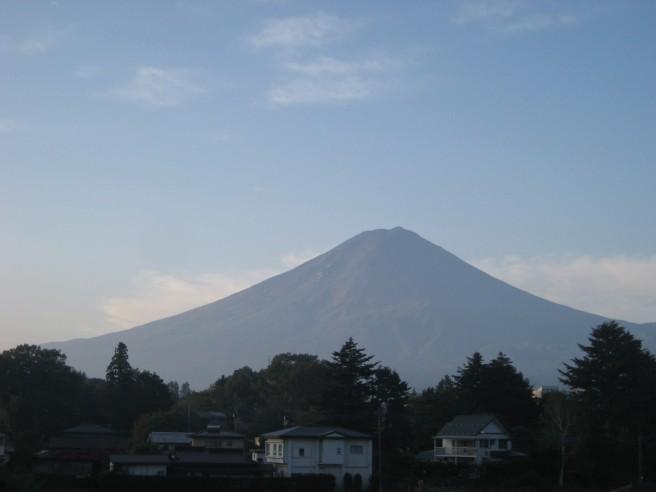 10月10日富士山