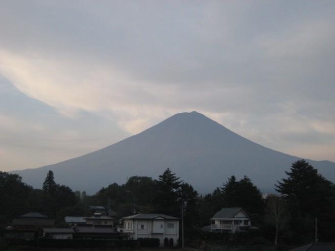 10月11日富士山