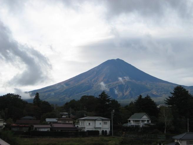 10月16日富士山