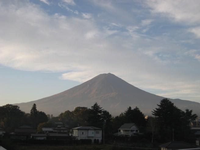 10月17日富士山